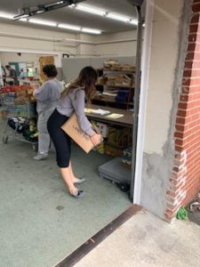 Rotary Club of Mt Airy Food Drive