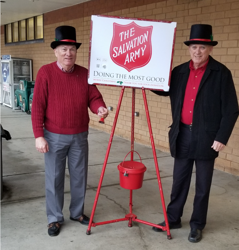 Mt Airy Salvation Army Bell Ringing